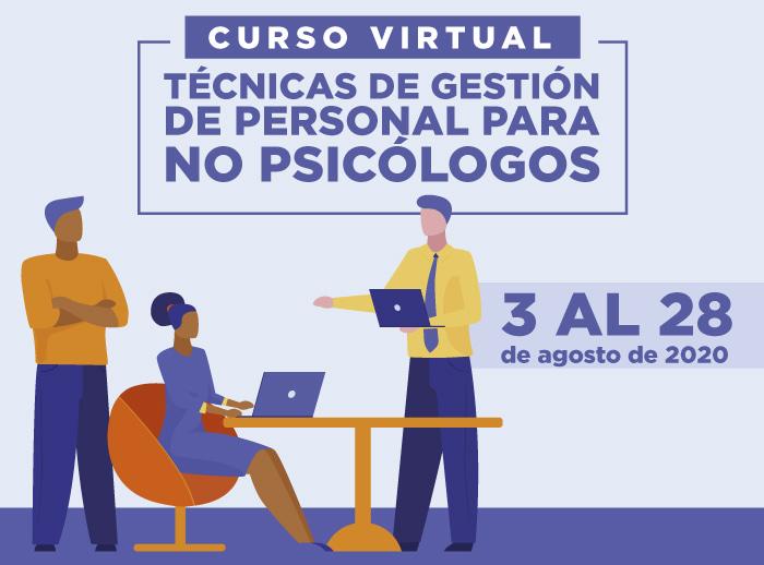 Curso Técnicas de gestión de personal para no psicólogos Uniremington