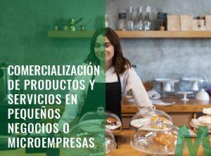 Comercialización de Productos y Servicios en Pequeños Negocios o Microempresas