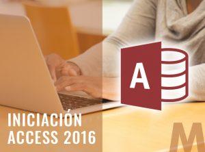 Iniciación Access 2016 - Ofimatica