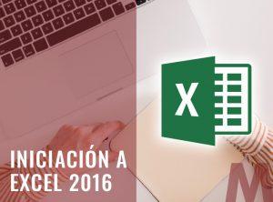 Iniciación a Excel 2016 - Ofimatica