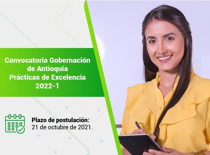 Prácticas Excelencia Gobernación de Antioquia 2022-1